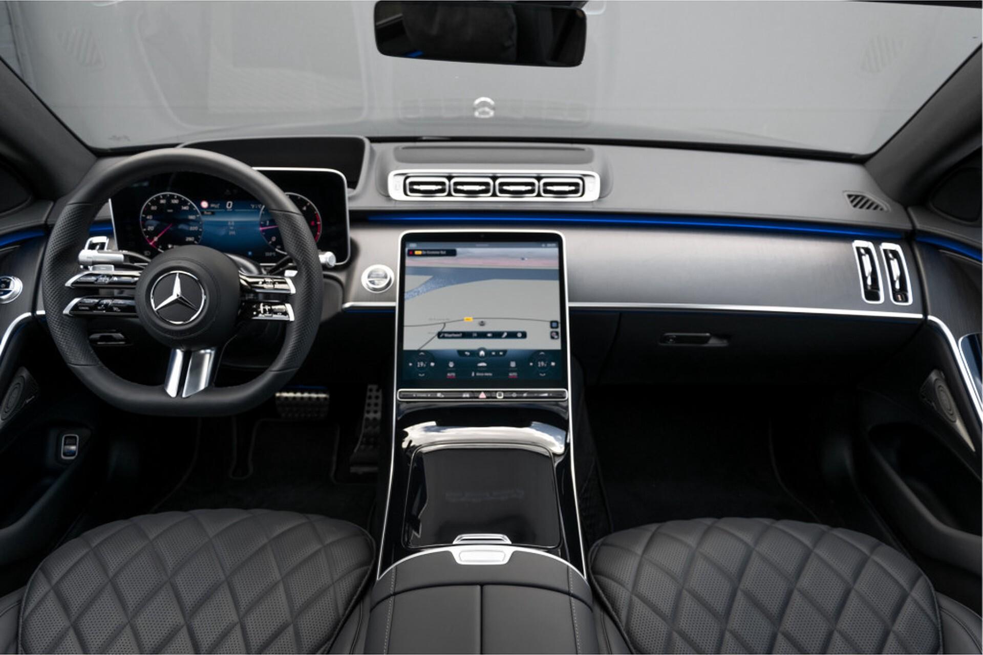 """Mercedes-Benz S-Klasse 400d Lang 4-M AMG Premium Plus 21""""/Massage/Head-Up/Digital Light/Ruitleder Aut9 Foto 8"""