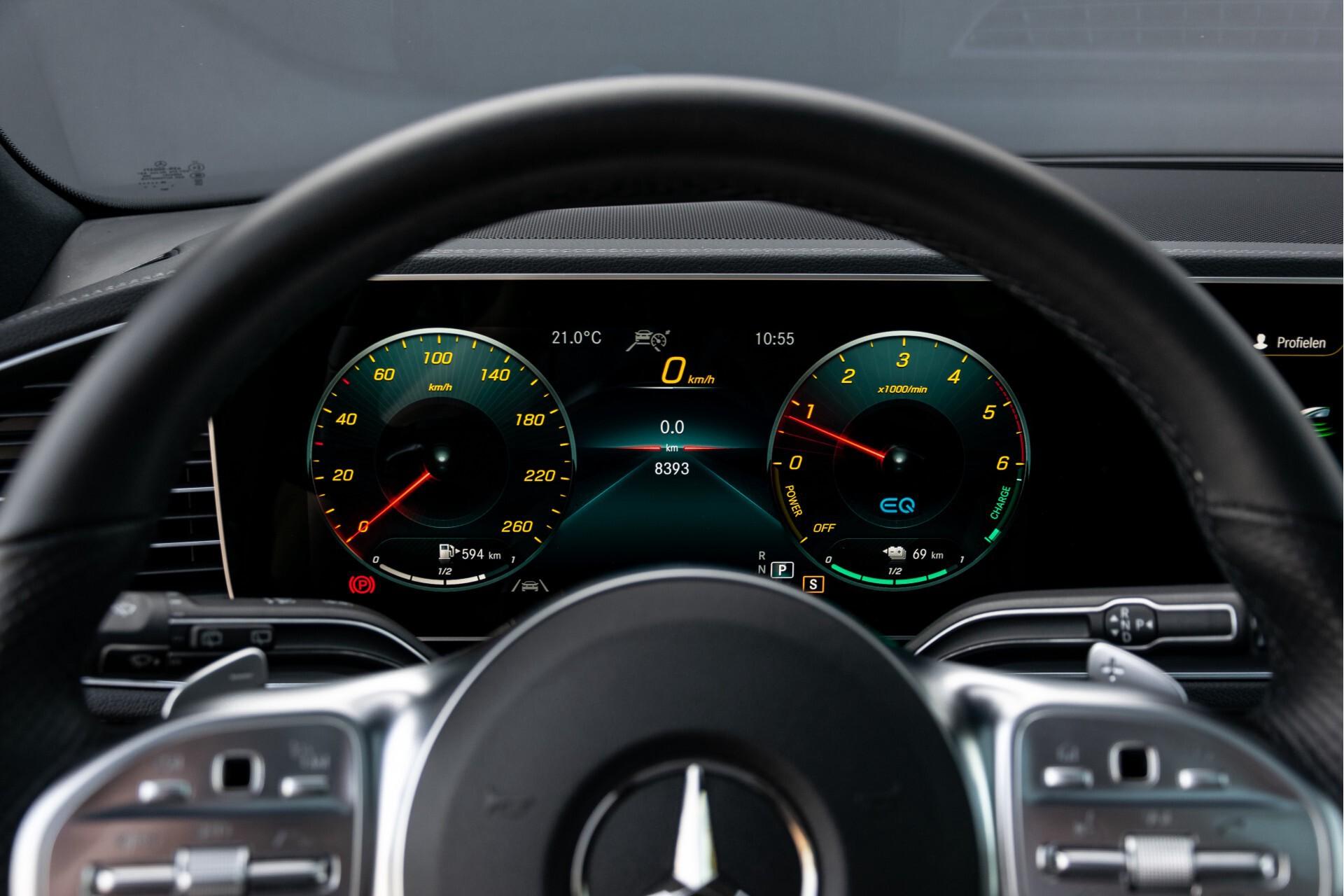 Mercedes-Benz GLE 350 de 4-M AMG Night Luchtvering/Rij-assist/Keyless/Panorama/Trekhaak/Burmester Aut9 Foto 14