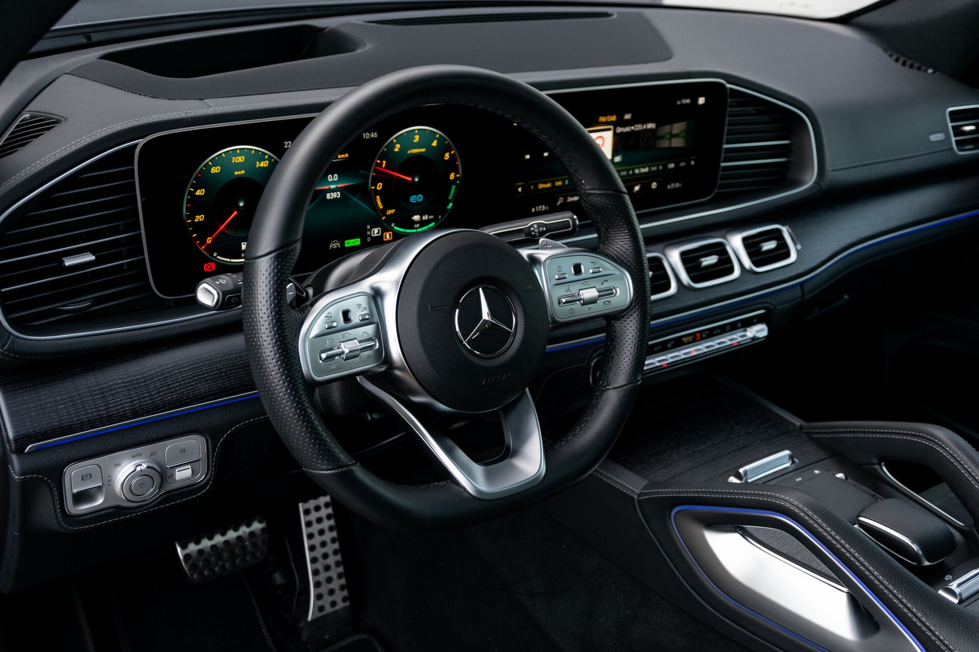 Mercedes-Benz GLE 350 de 4-M AMG Night Luchtvering/Rij-assist/Keyless/Panorama/Trekhaak/Burmester Aut9 Foto 19