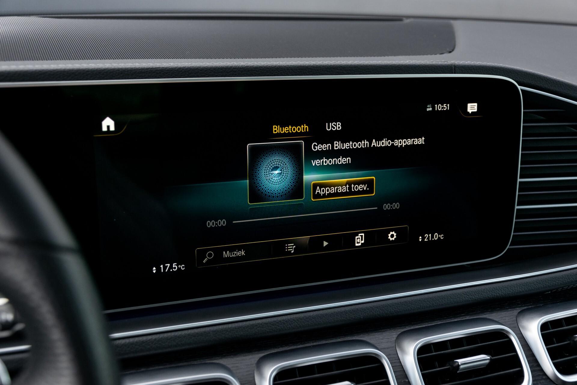 Mercedes-Benz GLE 350 de 4-M AMG Night Luchtvering/Rij-assist/Keyless/Panorama/Trekhaak/Burmester Aut9 Foto 22