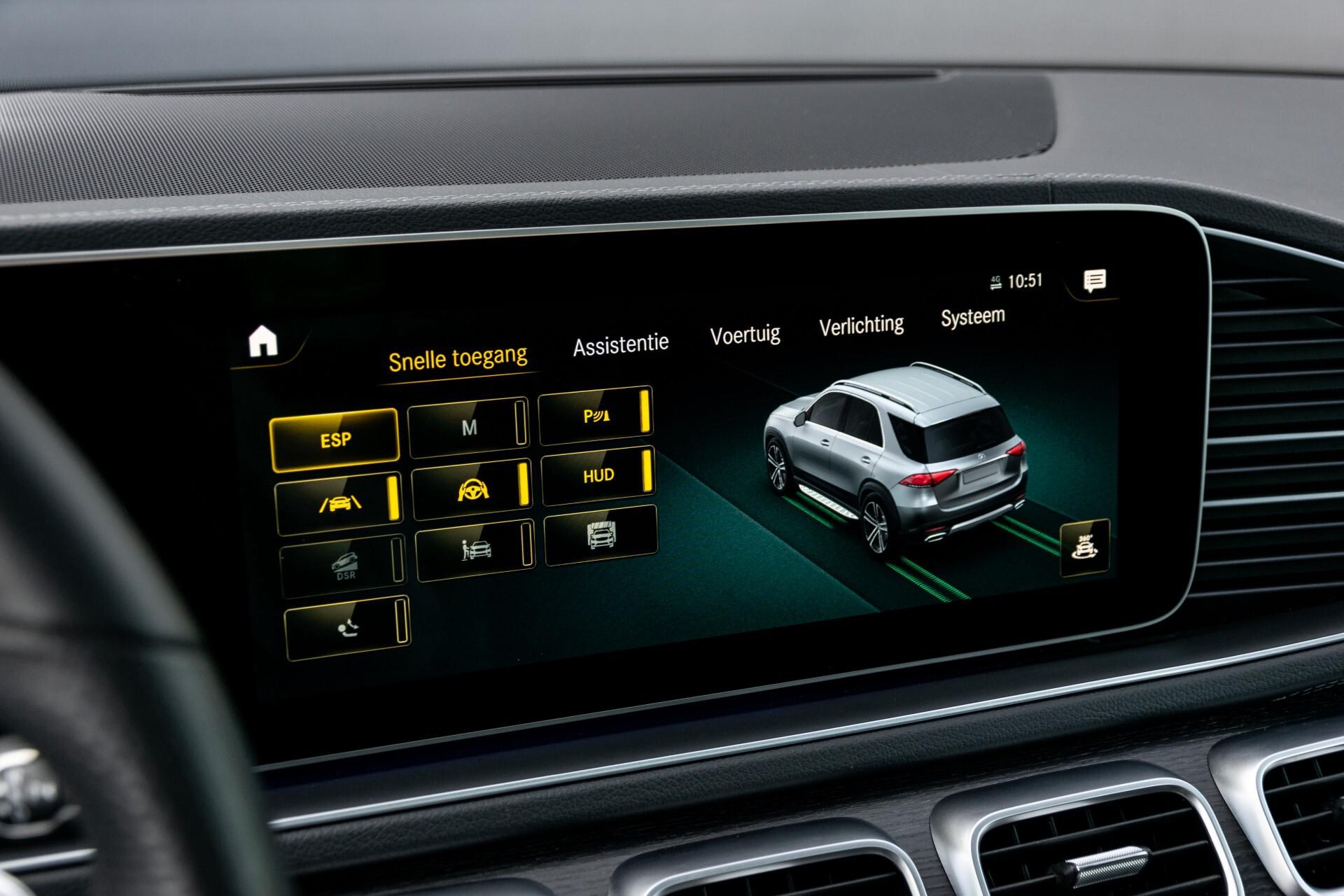 Mercedes-Benz GLE 350 de 4-M AMG Night Luchtvering/Rij-assist/Keyless/Panorama/Trekhaak/Burmester Aut9 Foto 26
