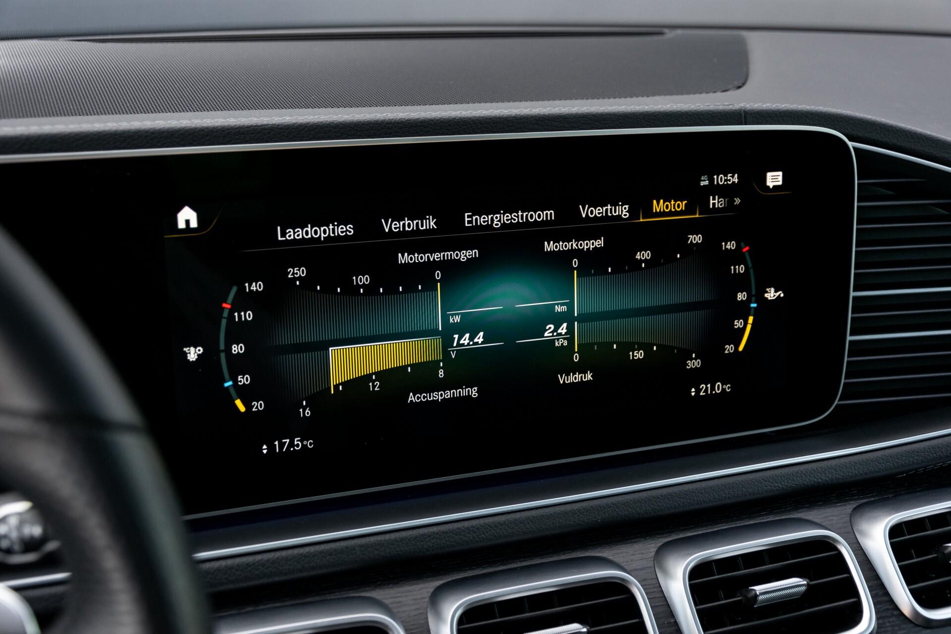 Mercedes-Benz GLE 350 de 4-M AMG Night Luchtvering/Rij-assist/Keyless/Panorama/Trekhaak/Burmester Aut9 Foto 59