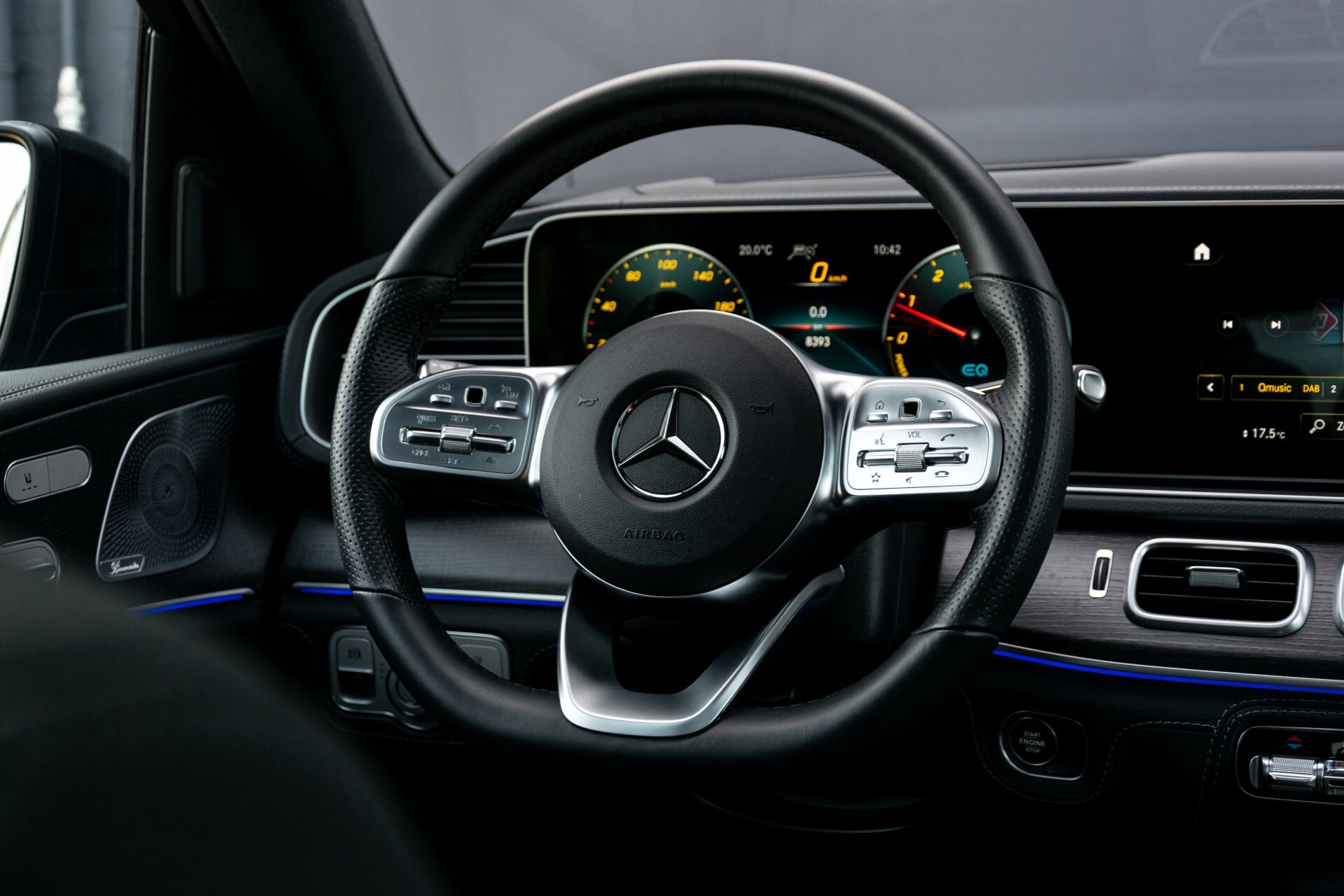 Mercedes-Benz GLE 350 de 4-M AMG Night Luchtvering/Rij-assist/Keyless/Panorama/Trekhaak/Burmester Aut9 Foto 9