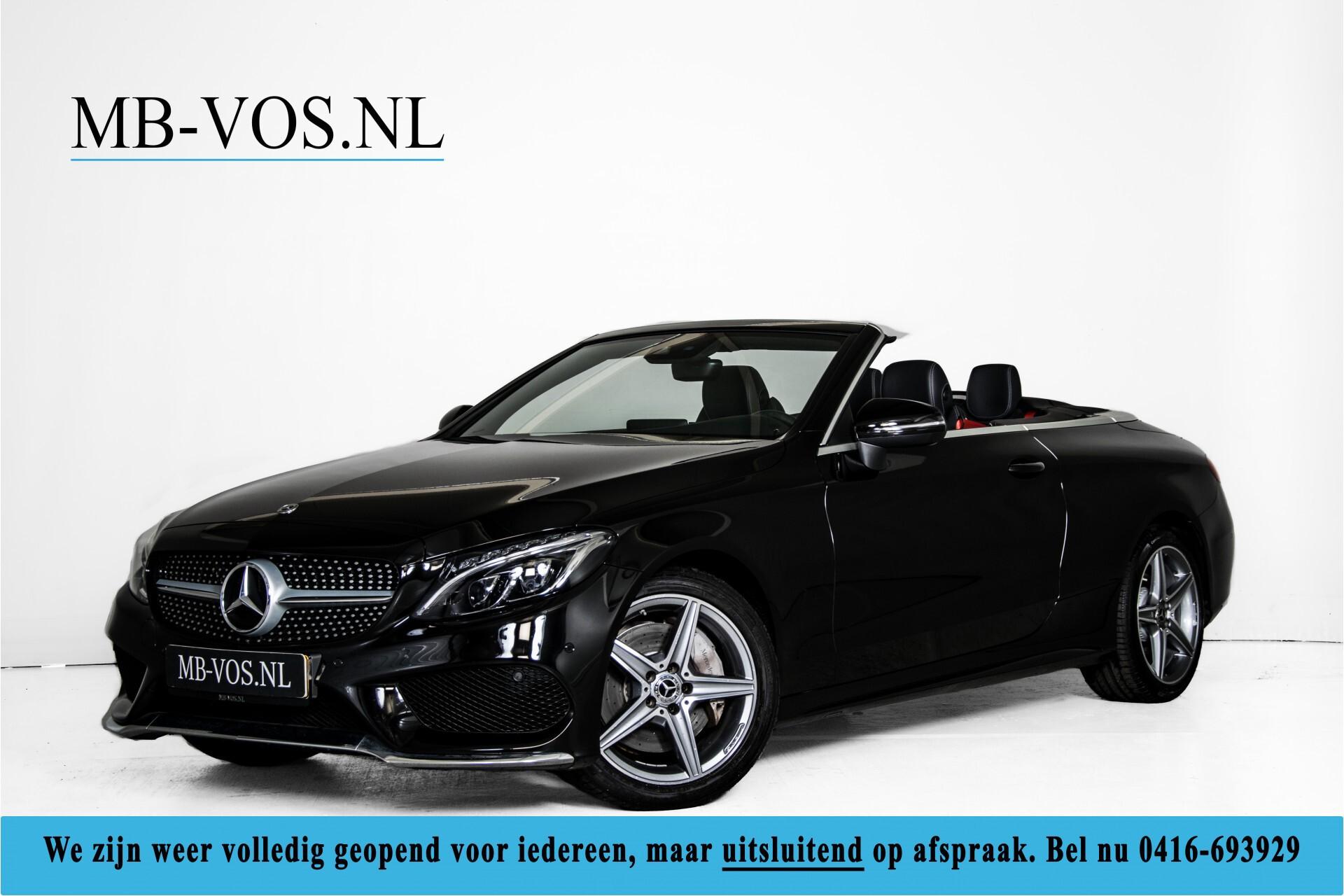 Mercedes-Benz C-Klasse Cabrio 250 AMG Airscarf/Aircap/Comand/ILS/Camera/Rode cabriokap Aut9 Foto 1