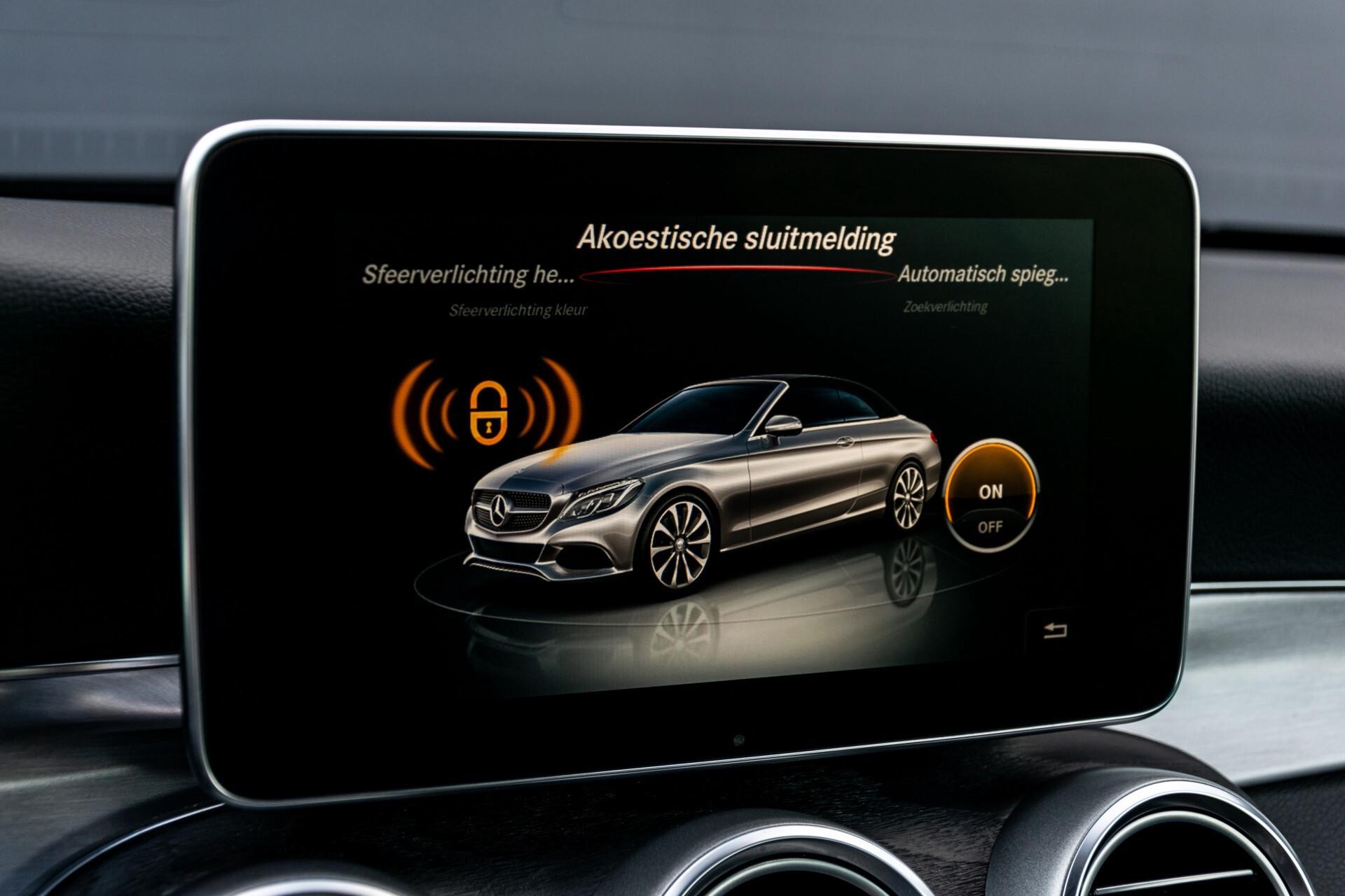 Mercedes-Benz C-Klasse Cabrio 250 AMG Airscarf/Aircap/Comand/ILS/Camera/Rode cabriokap Aut9 Foto 25