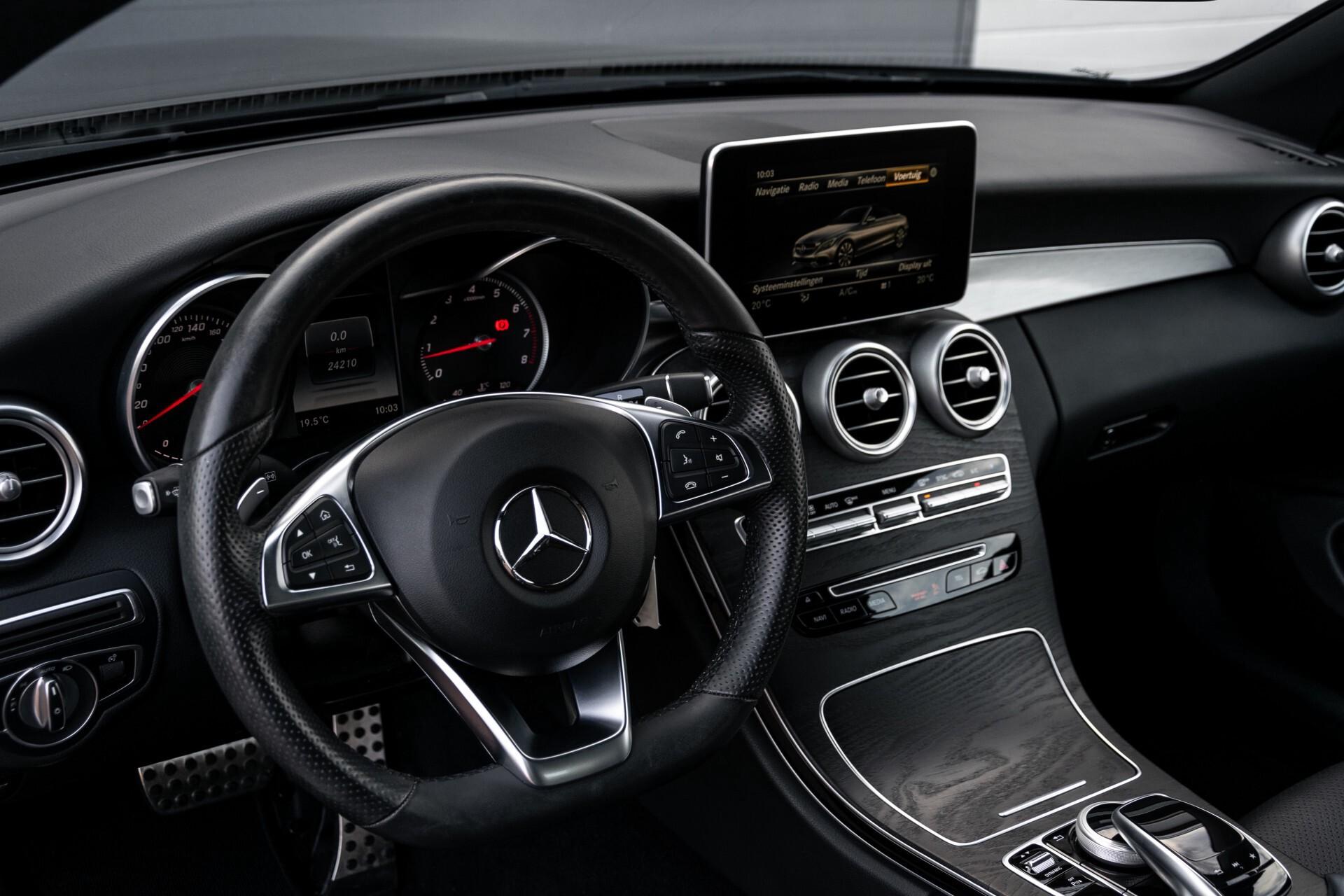 Mercedes-Benz C-Klasse Cabrio 250 AMG Airscarf/Aircap/Comand/ILS/Camera/Rode cabriokap Aut9 Foto 28