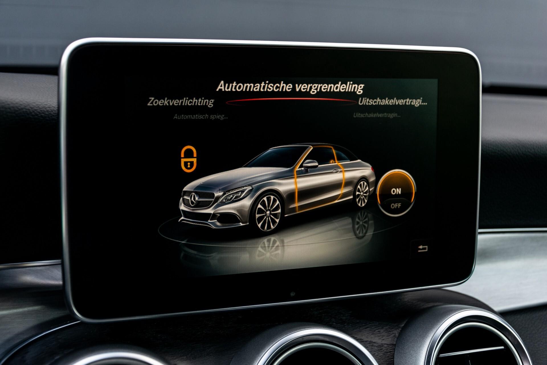 Mercedes-Benz C-Klasse Cabrio 250 AMG Airscarf/Aircap/Comand/ILS/Camera/Rode cabriokap Aut9 Foto 31