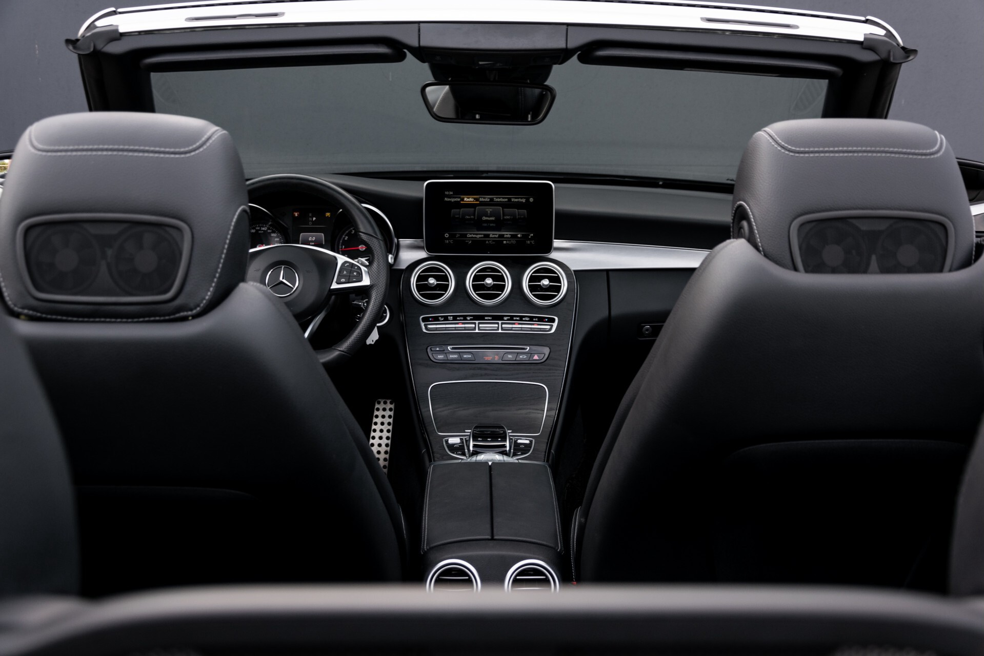 Mercedes-Benz C-Klasse Cabrio 250 AMG Airscarf/Aircap/Comand/ILS/Camera/Rode cabriokap Aut9 Foto 52