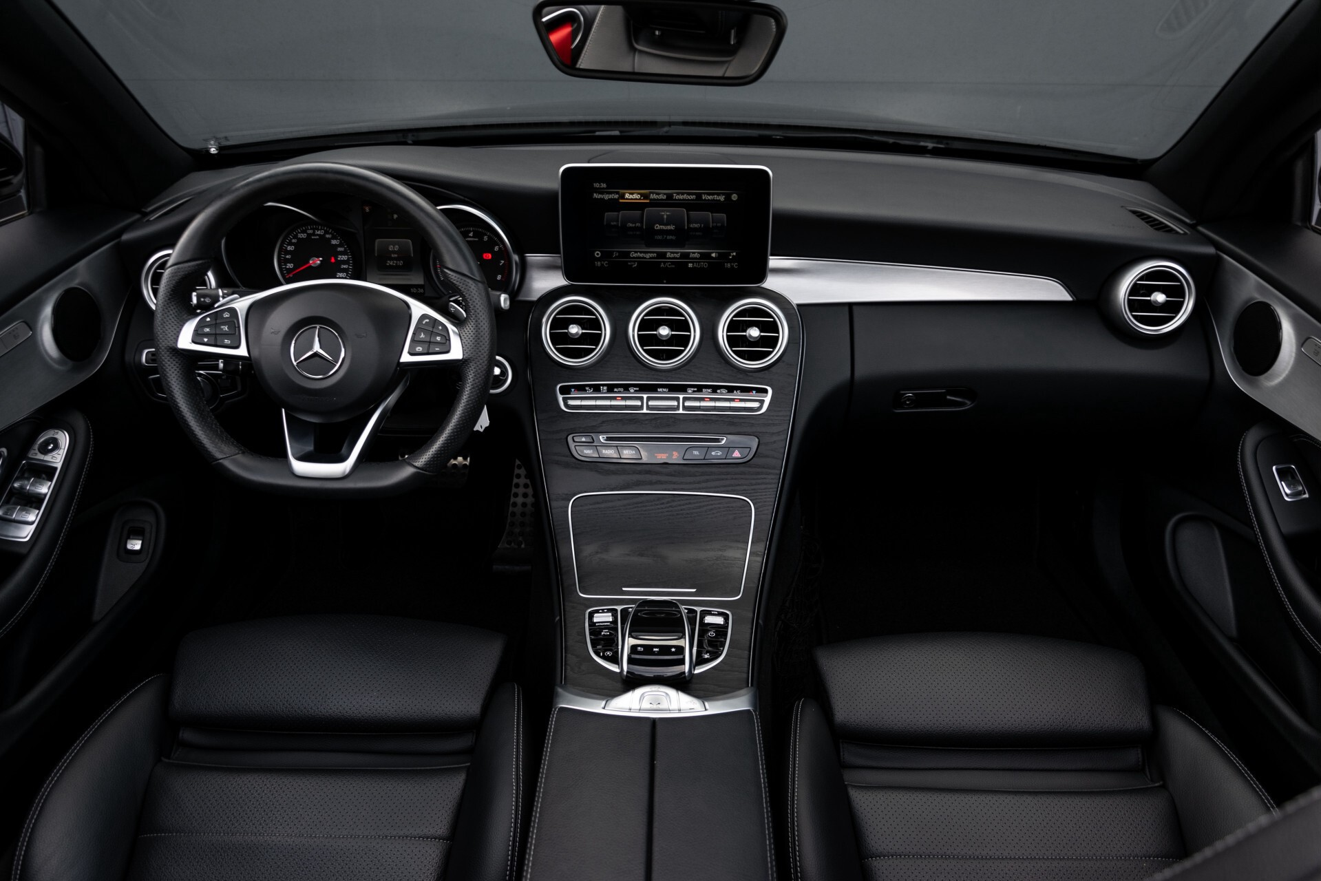 Mercedes-Benz C-Klasse Cabrio 250 AMG Airscarf/Aircap/Comand/ILS/Camera/Rode cabriokap Aut9 Foto 9
