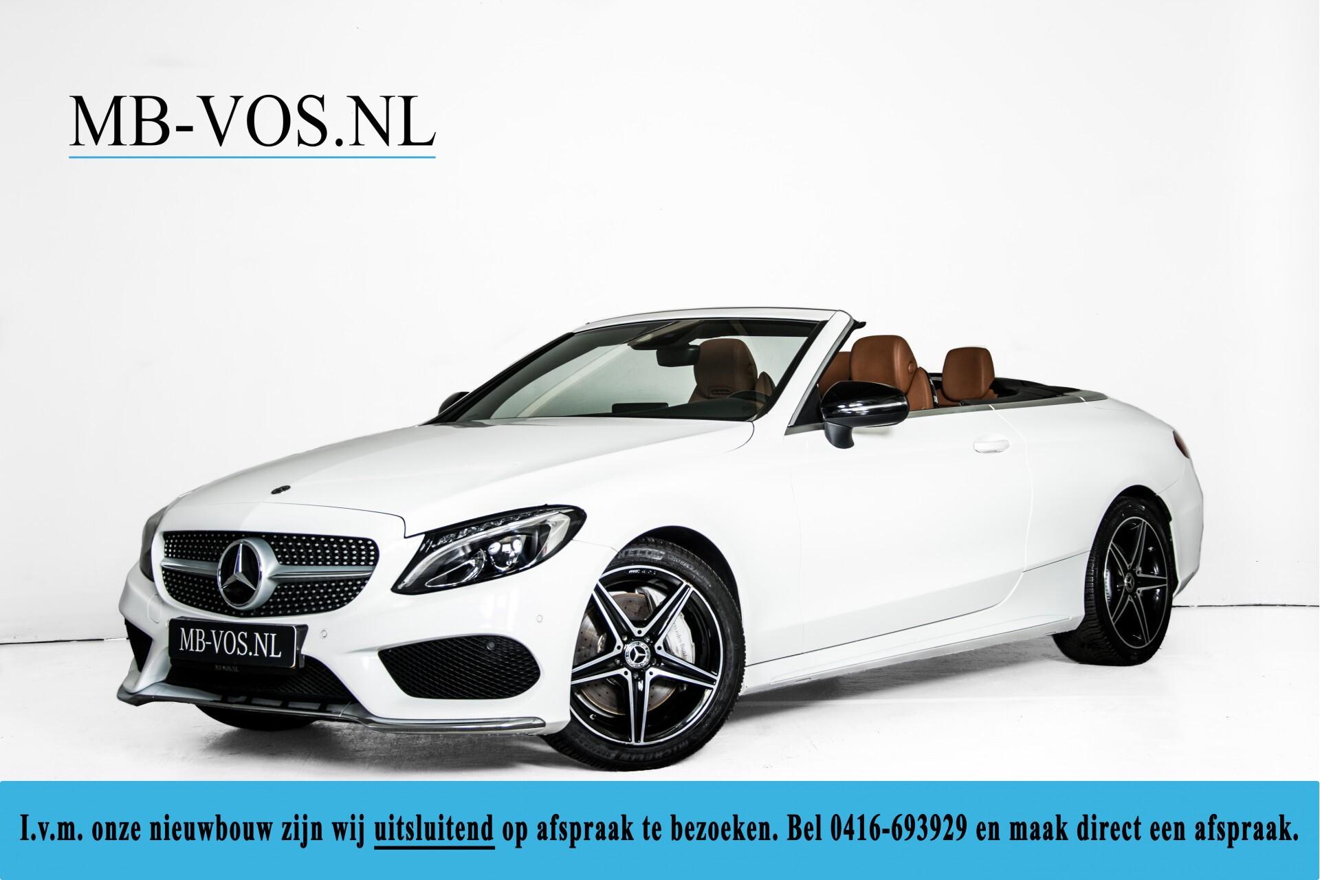 Mercedes-Benz C-Klasse 300 Cabriolet AMG Carbon/Airscarf/Aircap/Comand/Zadelbruin leder/Burmester Aut9 Foto 1