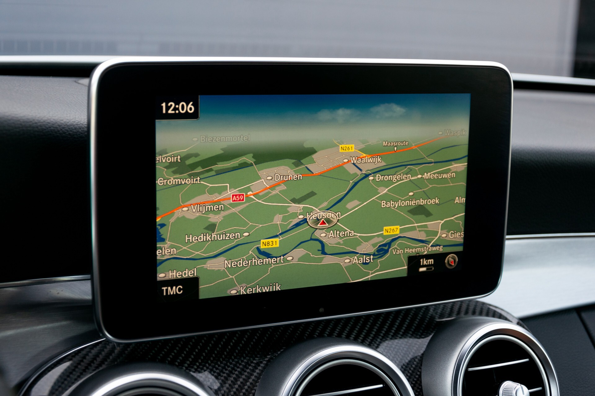 Mercedes-Benz C-Klasse 300 Cabriolet AMG Carbon/Airscarf/Aircap/Comand/Zadelbruin leder/Burmester Aut9 Foto 12