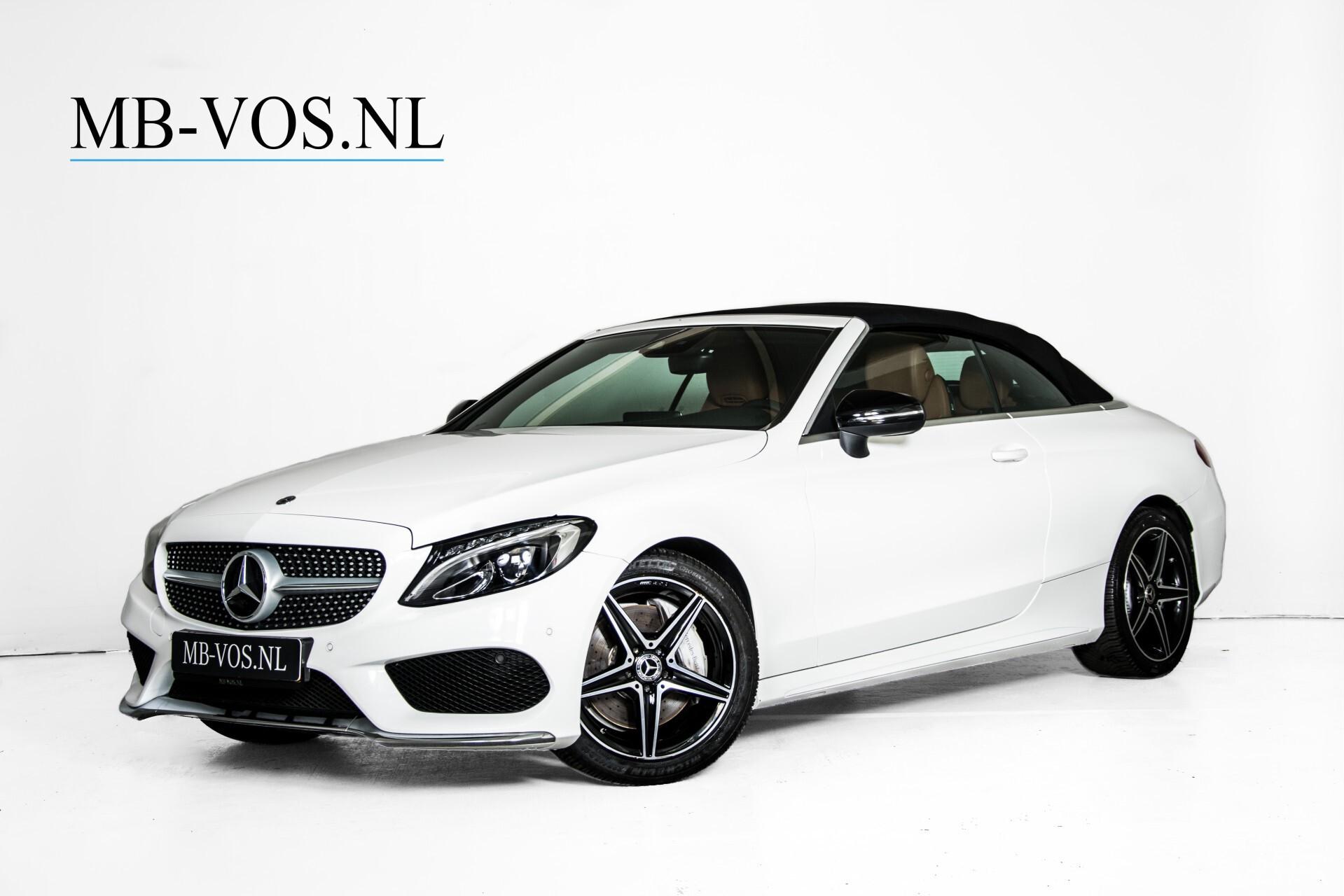 Mercedes-Benz C-Klasse 300 Cabriolet AMG Carbon/Airscarf/Aircap/Comand/Zadelbruin leder/Burmester Aut9 Foto 2