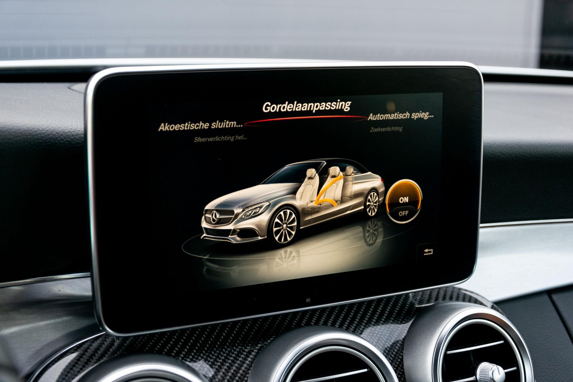 Mercedes-Benz C-Klasse 300 Cabriolet AMG Carbon/Airscarf/Aircap/Comand/Zadelbruin leder/Burmester Aut9 Foto 22