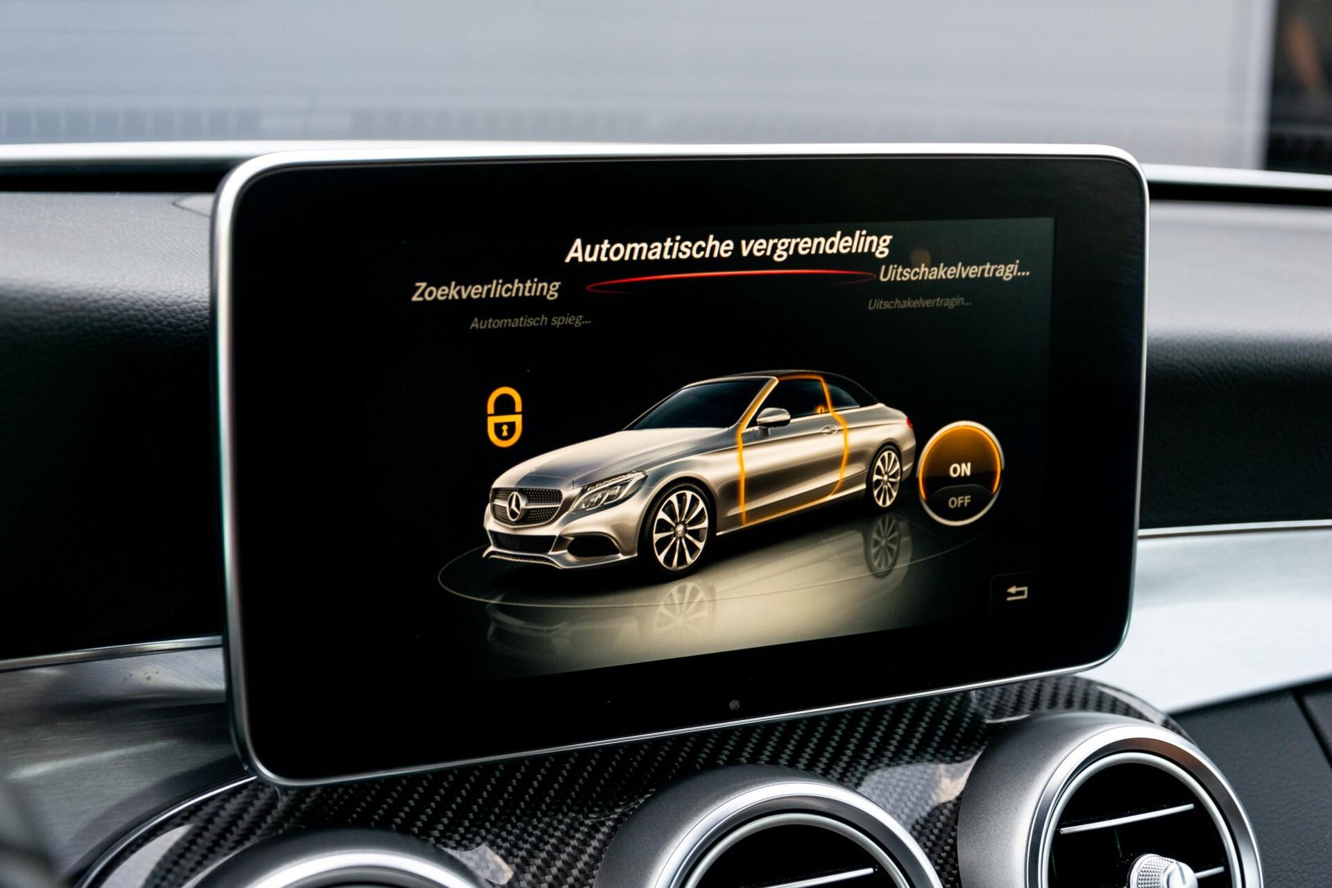 Mercedes-Benz C-Klasse 300 Cabriolet AMG Carbon/Airscarf/Aircap/Comand/Zadelbruin leder/Burmester Aut9 Foto 28