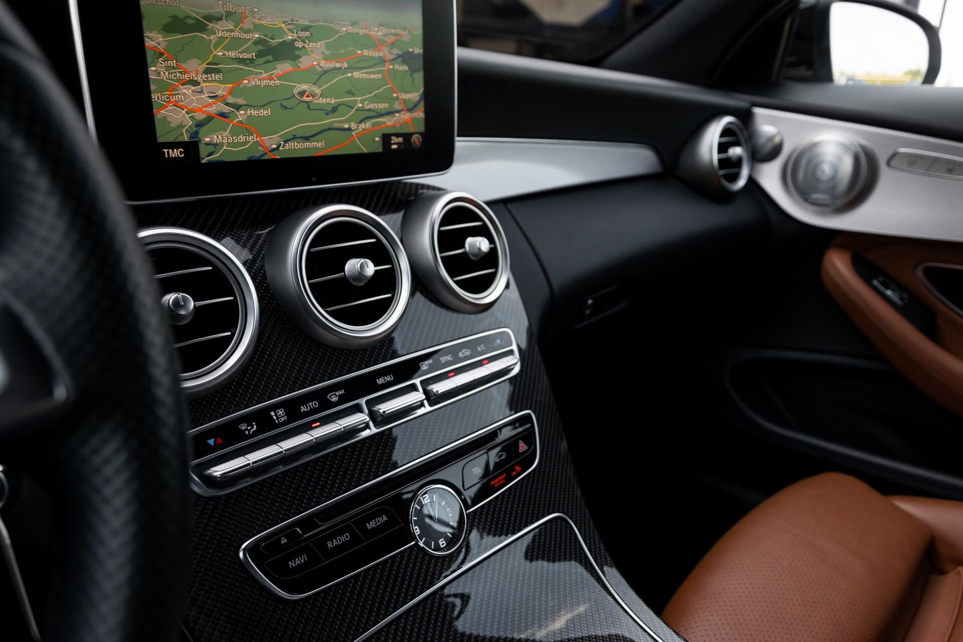 Mercedes-Benz C-Klasse 300 Cabriolet AMG Carbon/Airscarf/Aircap/Comand/Zadelbruin leder/Burmester Aut9 Foto 41