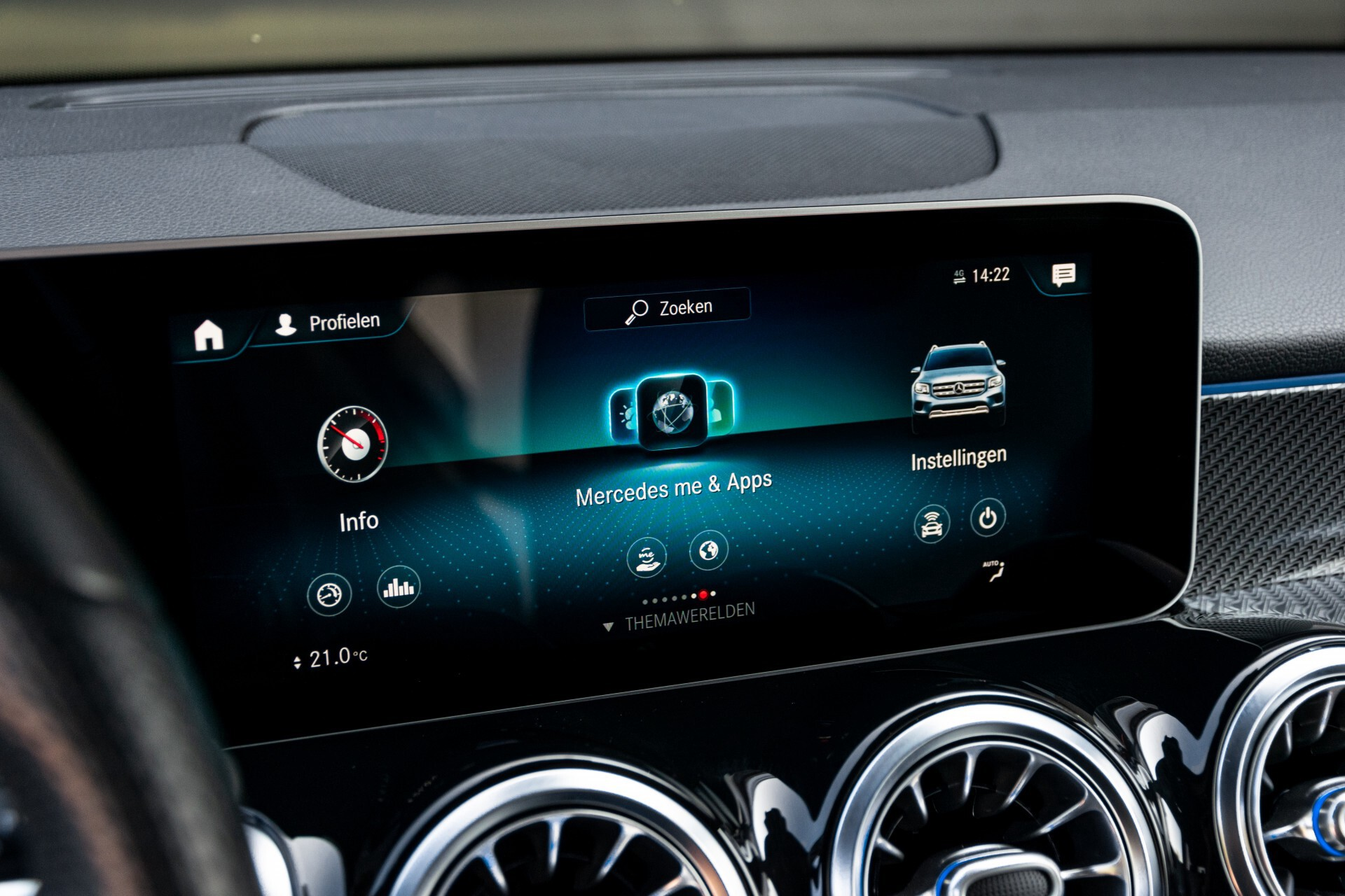 Mercedes-Benz GLB 250 4-M AMG Night/Distronic/Keyless/Mem/Geventileerde stoelen/Burmester/Pano Aut8 Foto 10