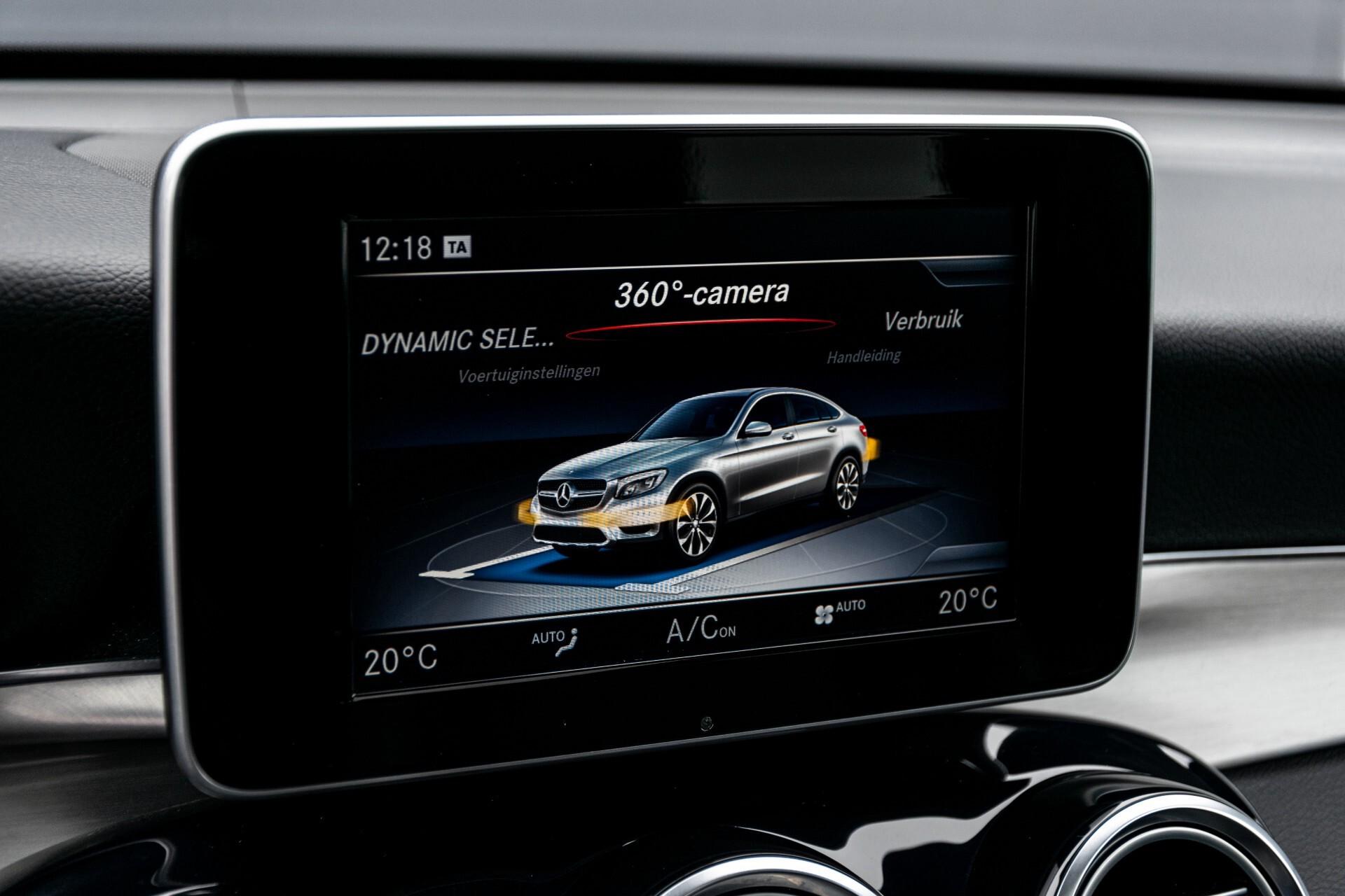 Mercedes-Benz GLC Coupé 250 4-M AMG Night/Dak/Burmester/LED/360/ILS/Trekhaak Aut9 Foto 33