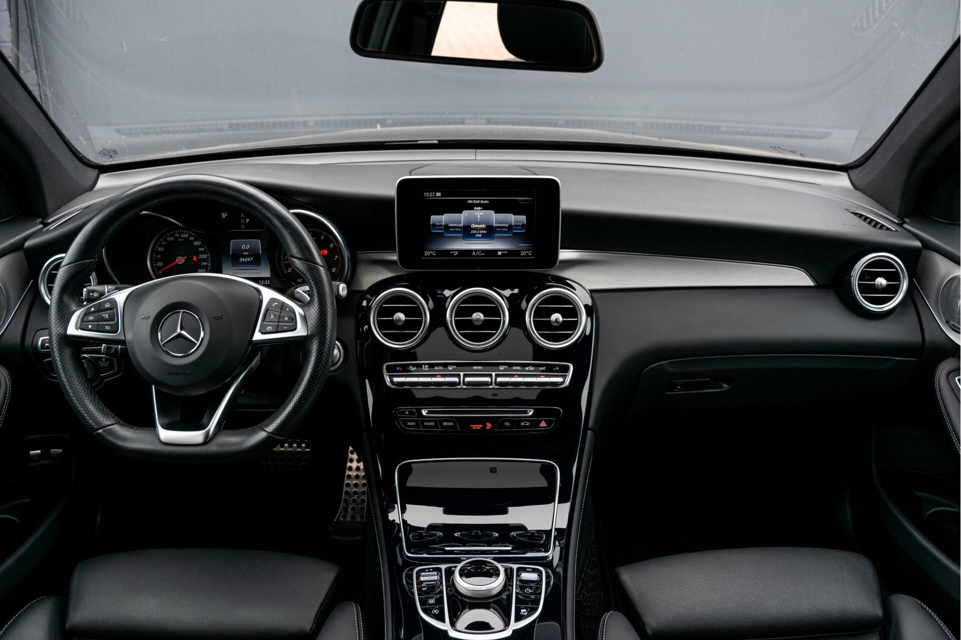 Mercedes-Benz GLC Coupé 250 4-M AMG Night/Dak/Burmester/LED/360/ILS/Trekhaak Aut9 Foto 9