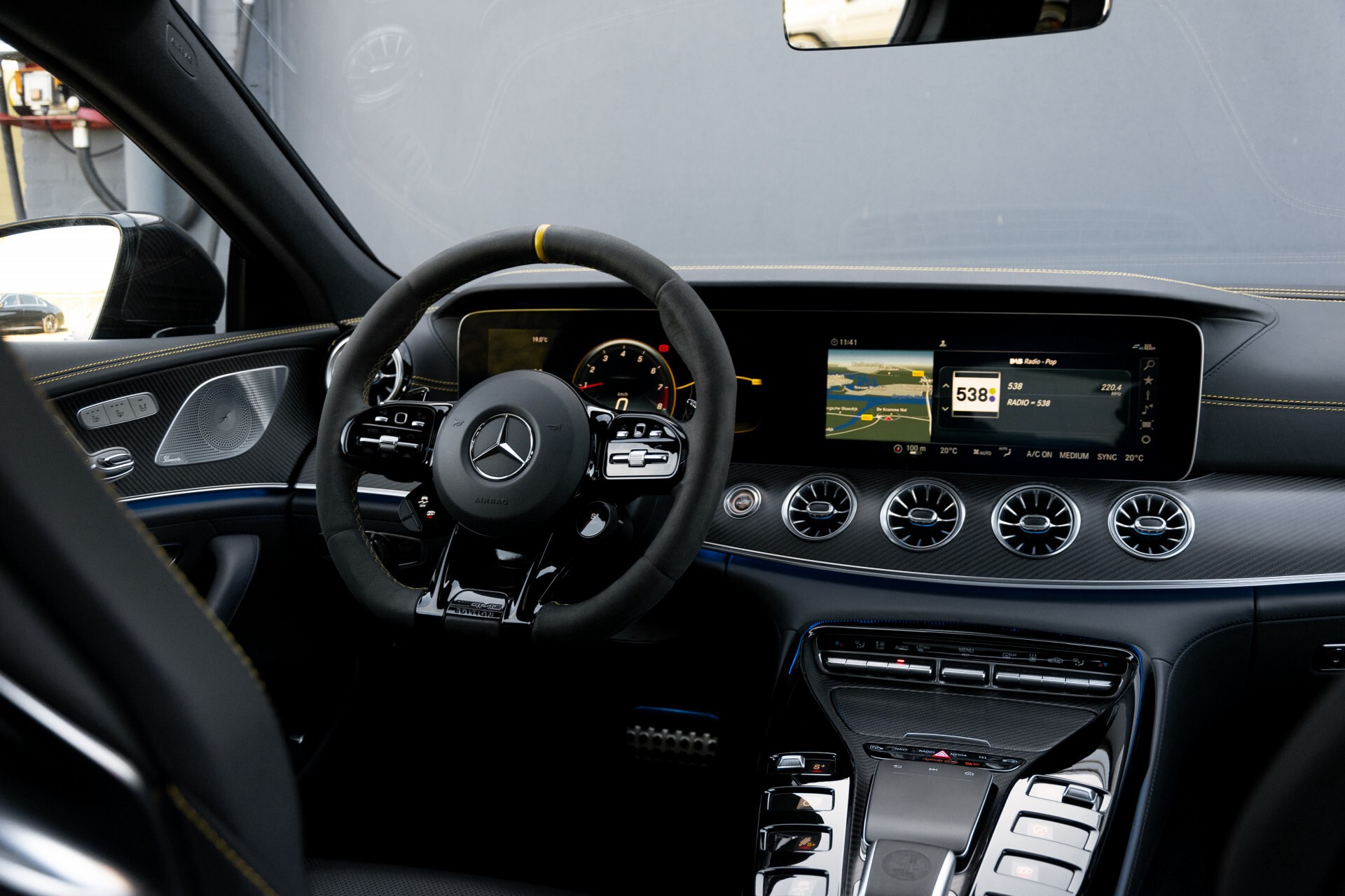 Mercedes-Benz AMG GT 4-Door Coupe 63 S 4MATIC+ Edition 1 Keramisch/Carbon/First Class/Dynamic Plus/Burmester High End 3D Aut9 Foto 7