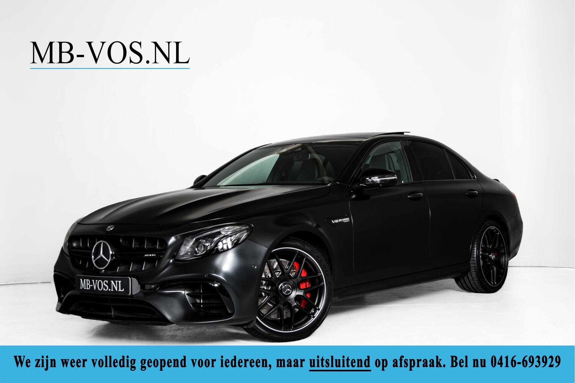 Mercedes-Benz E-Klasse 63 S AMG 4-Matic+ Edition 1 Matzwart/Carbon/Full Options Aut9 Foto 1