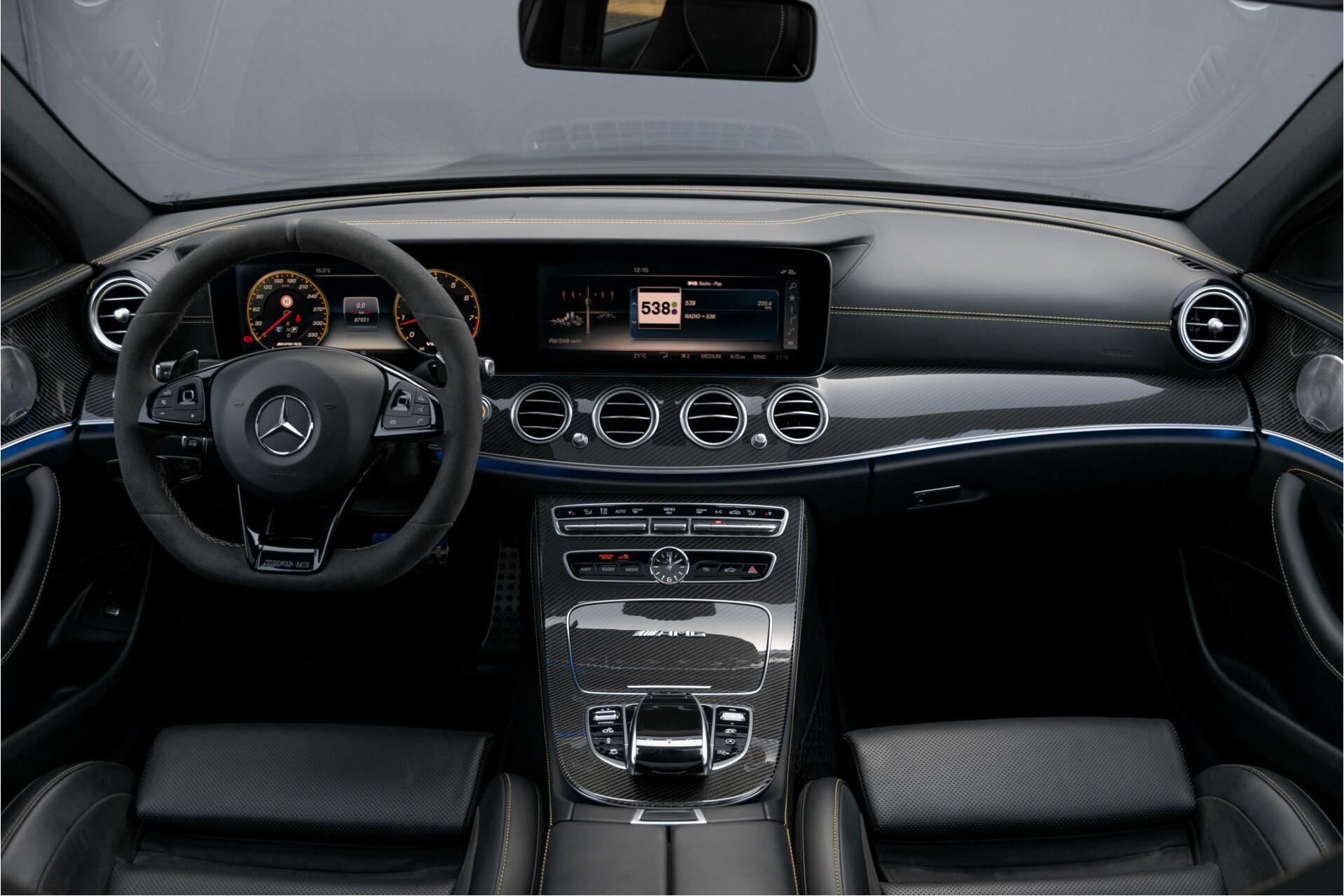 Mercedes-Benz E-Klasse 63 S AMG 4-Matic+ Edition 1 Matzwart/Carbon/Full Options Aut9 Foto 8