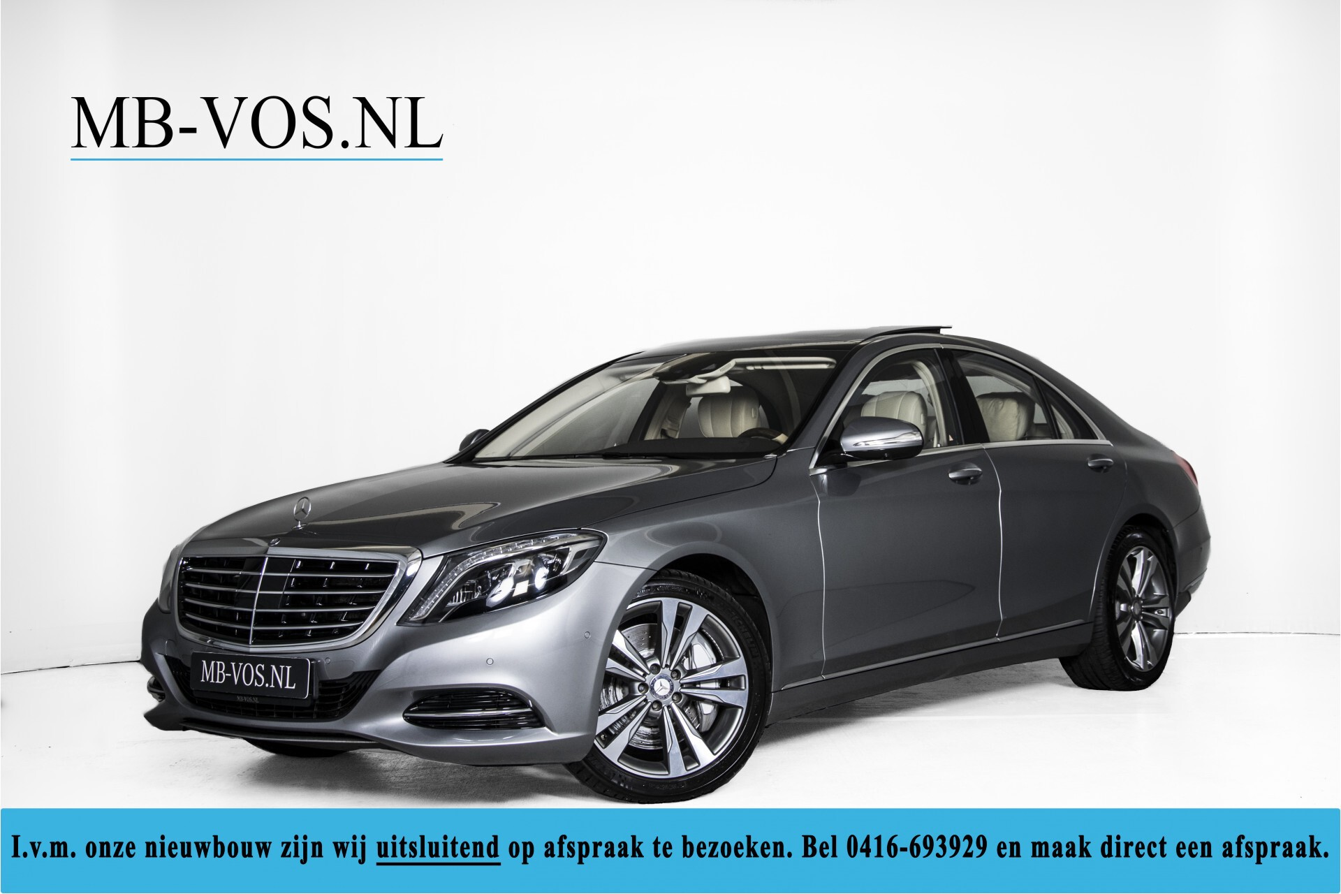 Mercedes-Benz S-Klasse 500 Massage/Rij-assistentie/Keyless/Stoelkoeling/Trekhaak/Pano Aut7 Foto 1
