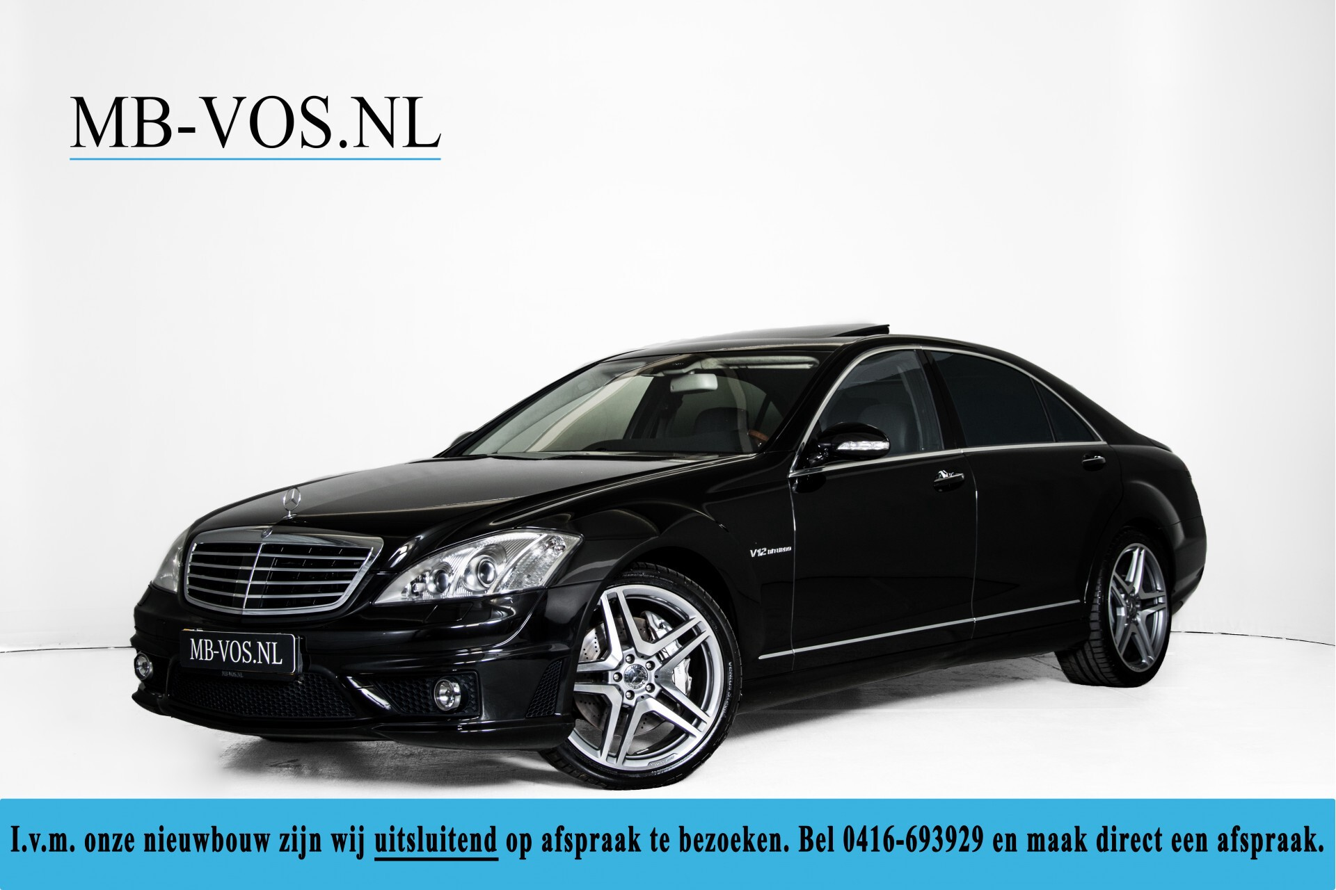 Mercedes-Benz S-Klasse 600 Lang 65 AMG Bi-Turbo Prestige Plus Aut5 Foto 1