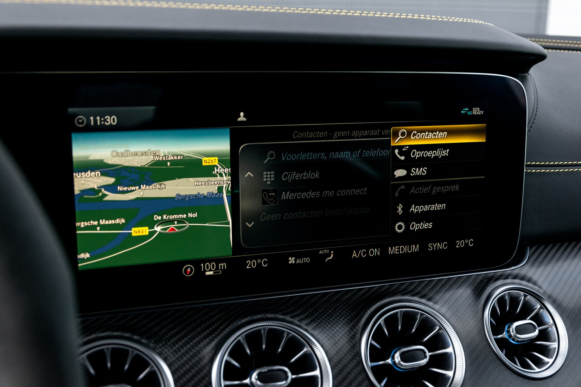 Mercedes-Benz AMG GT 4-Door Coupe 63 S 4MATIC+ Edition 1 Keramisch/Carbon/First Class/Dynamic Plus/Burmester High End 3D Aut9 Foto 25